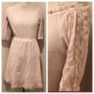 REPOSH TOPSHOP BLUSH DRESS